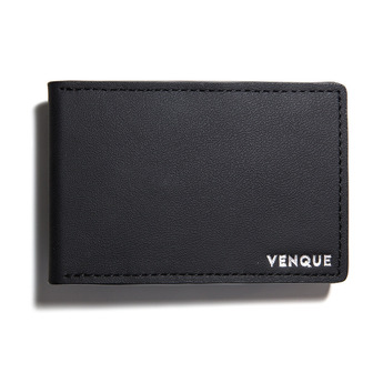 3D Slim Wallet Matte Black